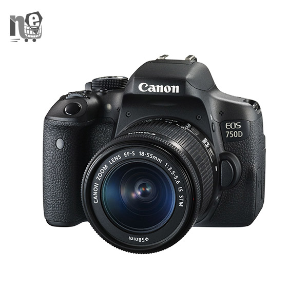 دوربین دیجيتال کانن – Canon EOS 750D Kit 18-55mm IS STM Digital Camera