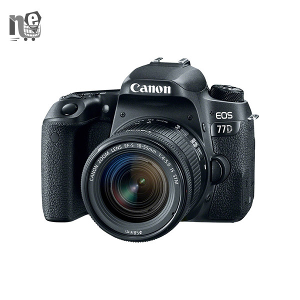 دوربین دیجيتال کانن – Canon EOS 77D Digital Camera With 18-55mm STM Lens