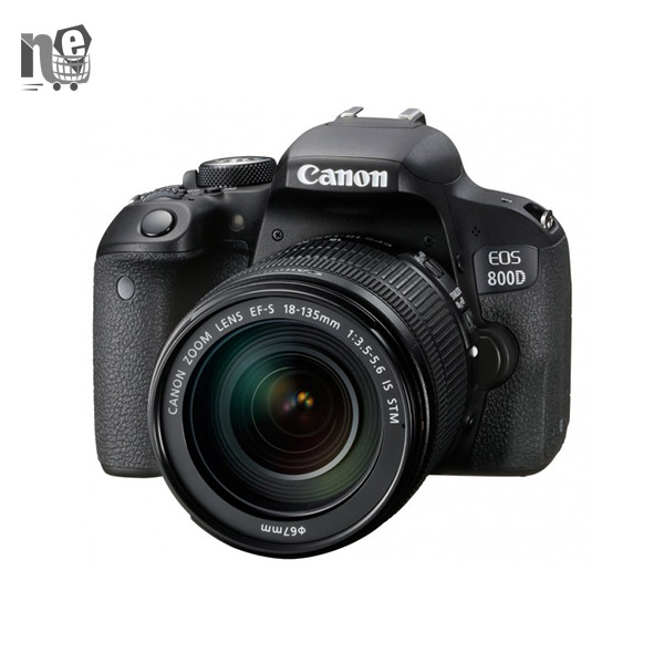 دوربین دیجيتال کانن – Canon EOS 800D Digital Camera With 18-135mm IS STM Lens
