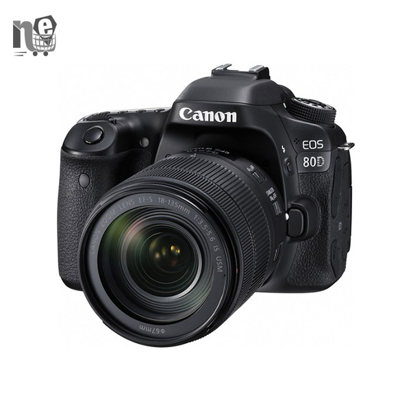 دوربین دیجيتال کانن – Canon Eos 80D EF S 18-135mm f/3.5-5.6 IS USM Kit Digital Camera